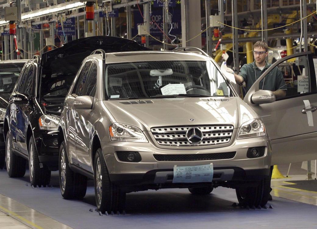 Mercedes benz restarting suv production in alabama for Mercedes benz alabama