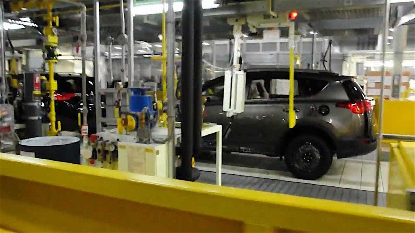 Toyota Investing 1 Billion Into Canadian Facilities