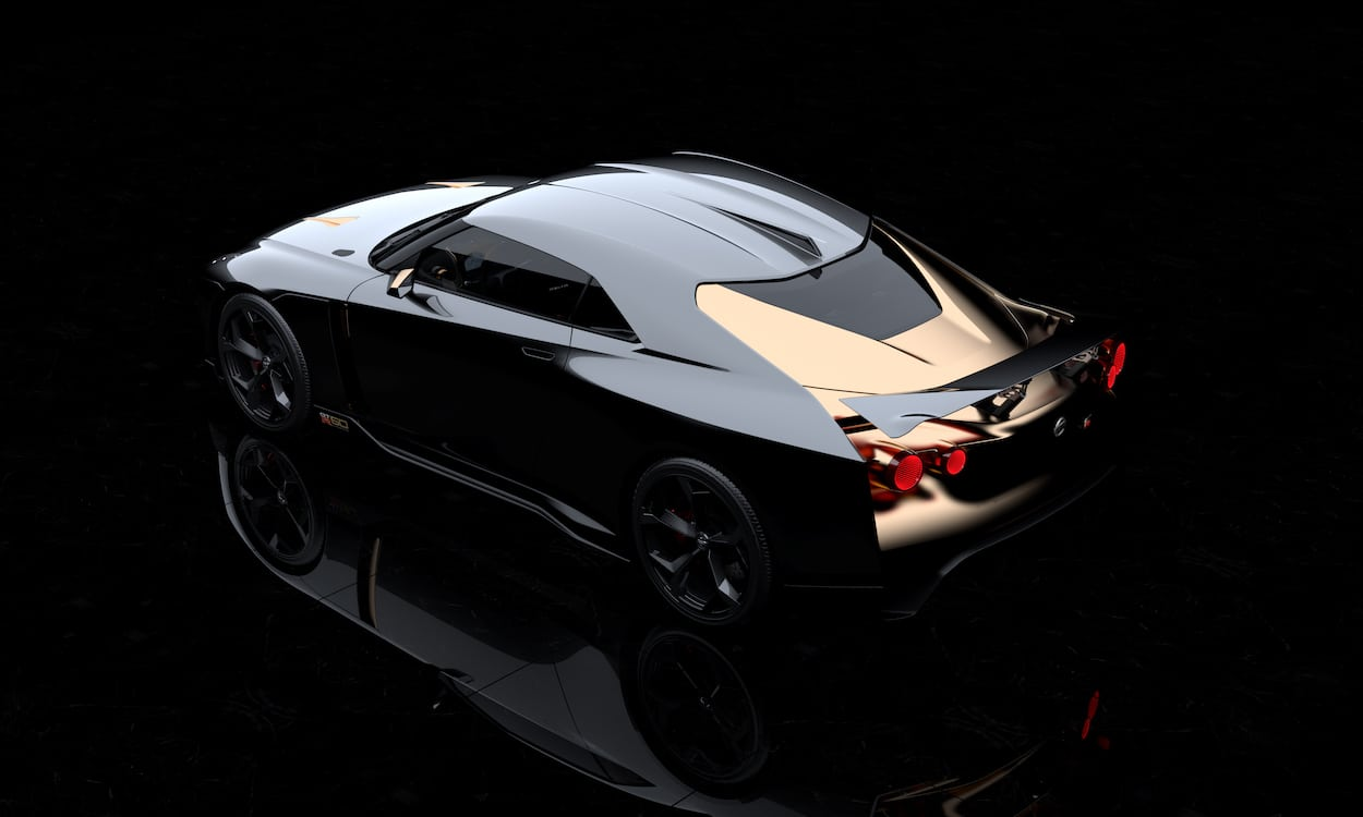 nissan pushes the limits with italdesign gt r50. Black Bedroom Furniture Sets. Home Design Ideas