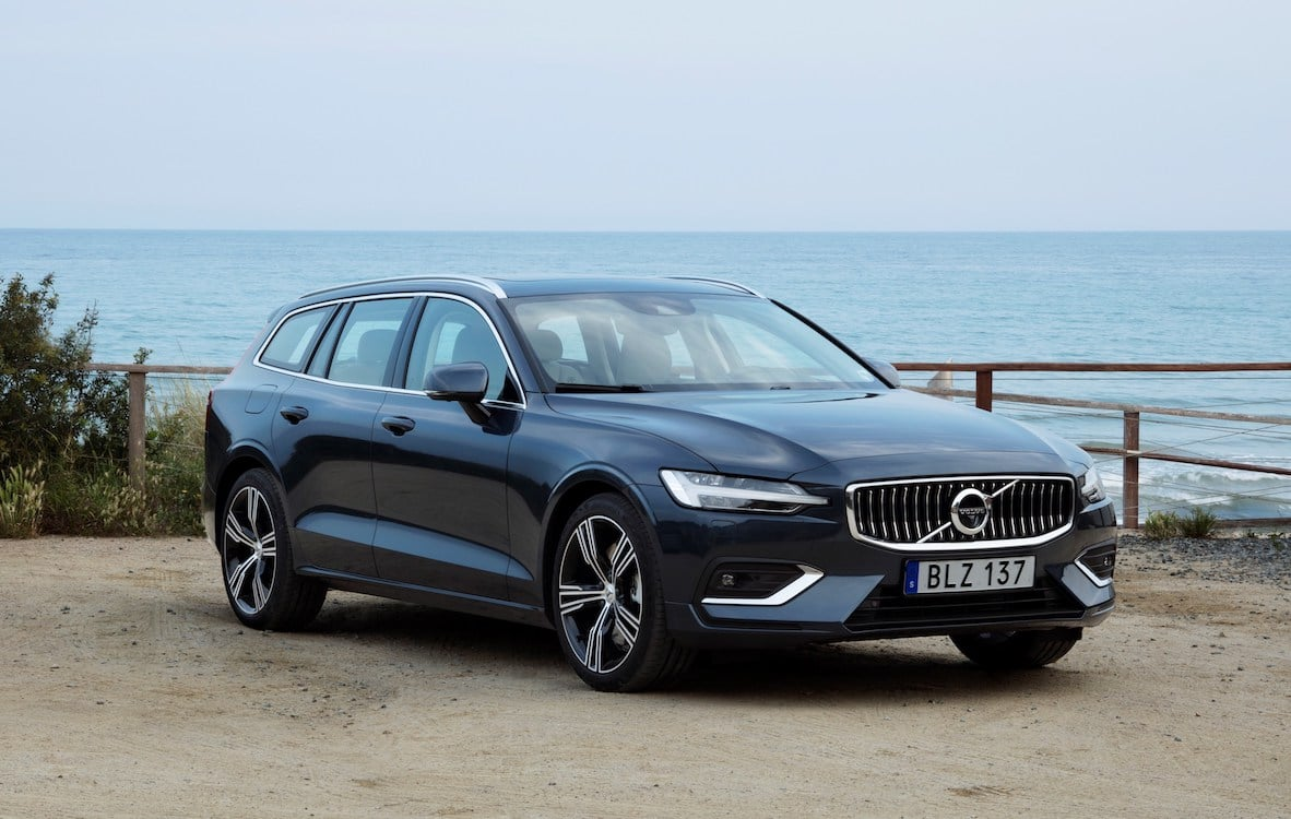 first drive 2019 volvo v60. Black Bedroom Furniture Sets. Home Design Ideas