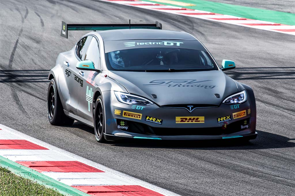 Tesla Takes its Turn on the Track in Inaugural Race Series
