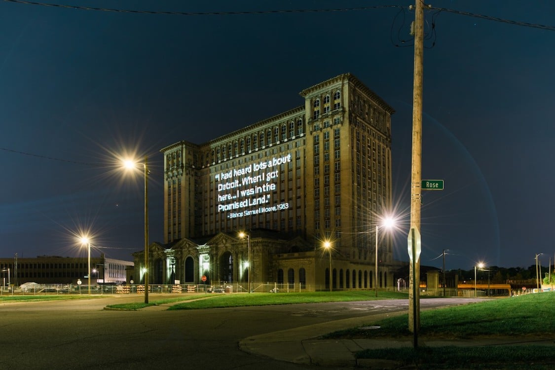 Ford Plans For Historic Detroit Rail Station Becoming