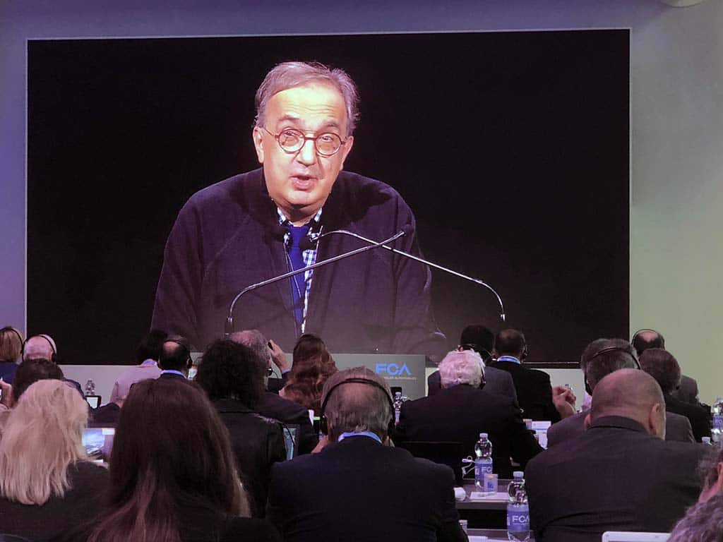 """Marchionne Treated for """"Serious Illness"""" for a Year Prior to Death"""