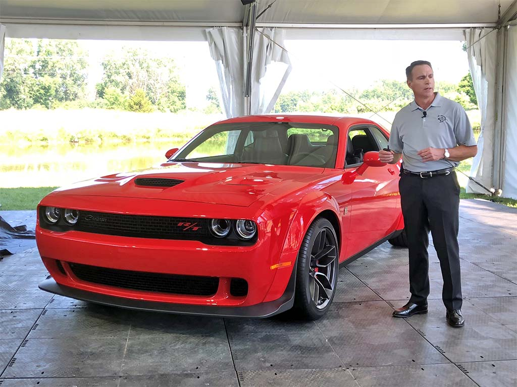 Dodge Boss Beahm Fills in the Blanks About Brand's Product Plans