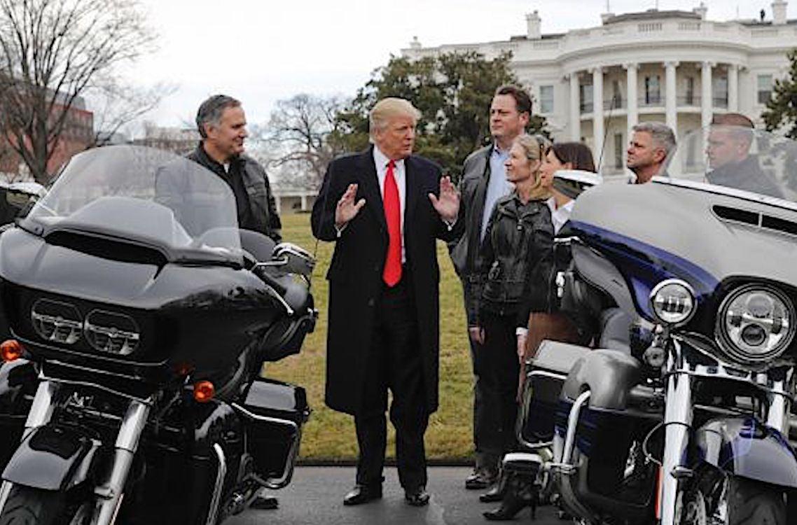 Harley Davidson: Friends To Enemies: Trump Threatens Harley Over Plan To