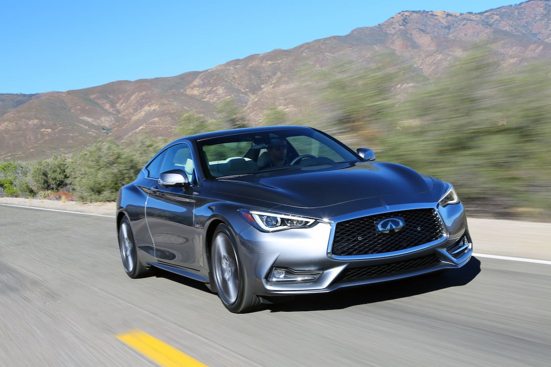 First Drive: 2018 Infiniti Q60 Red Sport 400 AWD
