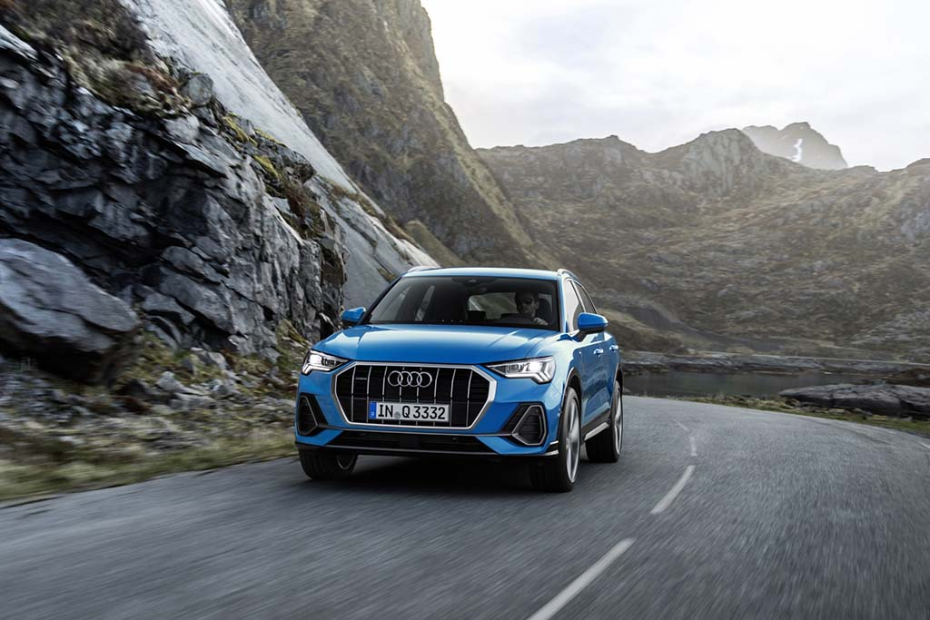 Audi Rolls Out All-New, 2019 Q3