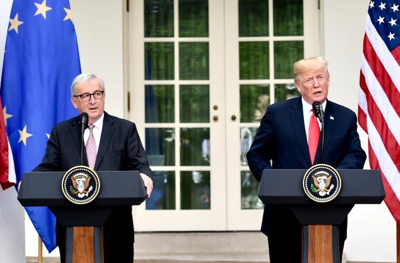 Trump, EU Explore Elimination of Tariffs