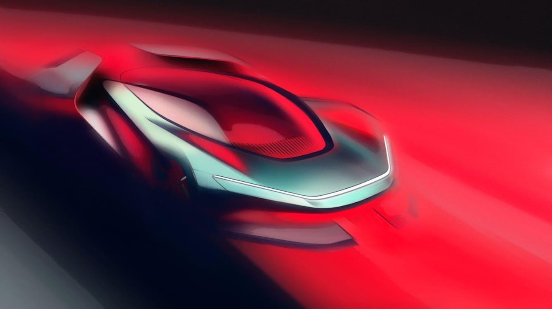 Italian Design House Pinfarina Reveals 1st Teaser of New Electric Luxury Car