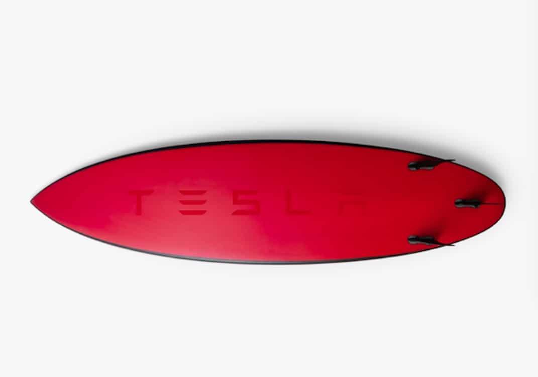 Cowabunga! Tesla Lets Fans Hang 10 with New Surfboard