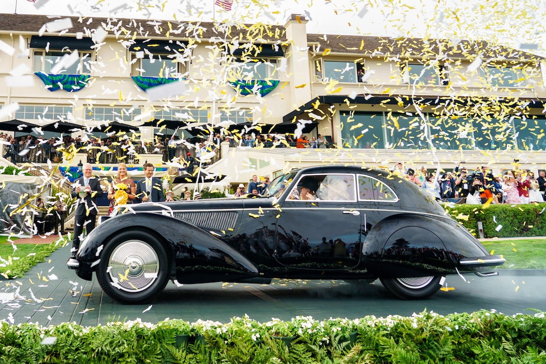 "Pebble Beach Concours d'Elegance Has Grown Into ""Car Week"""