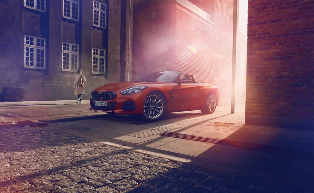 BMW Z4 Takes its Formal Bow in Pebble Beach