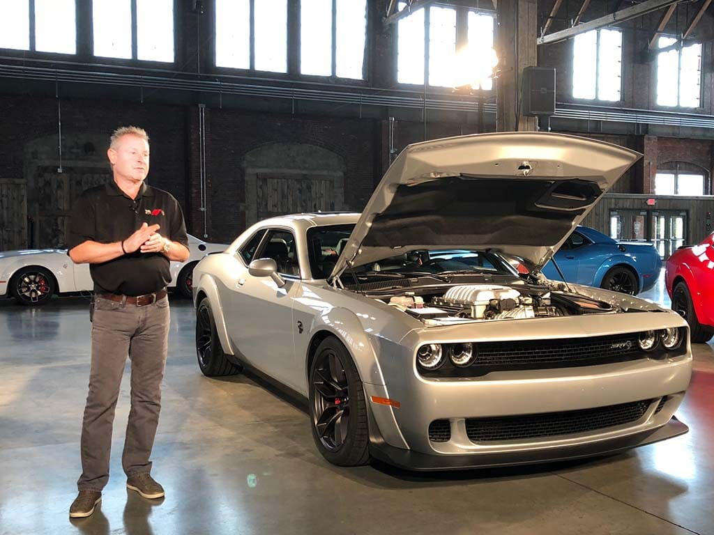 First Drive 2019 Dodge Challenger Srt Hellcat Redeye Widebody The Detroit Bureau