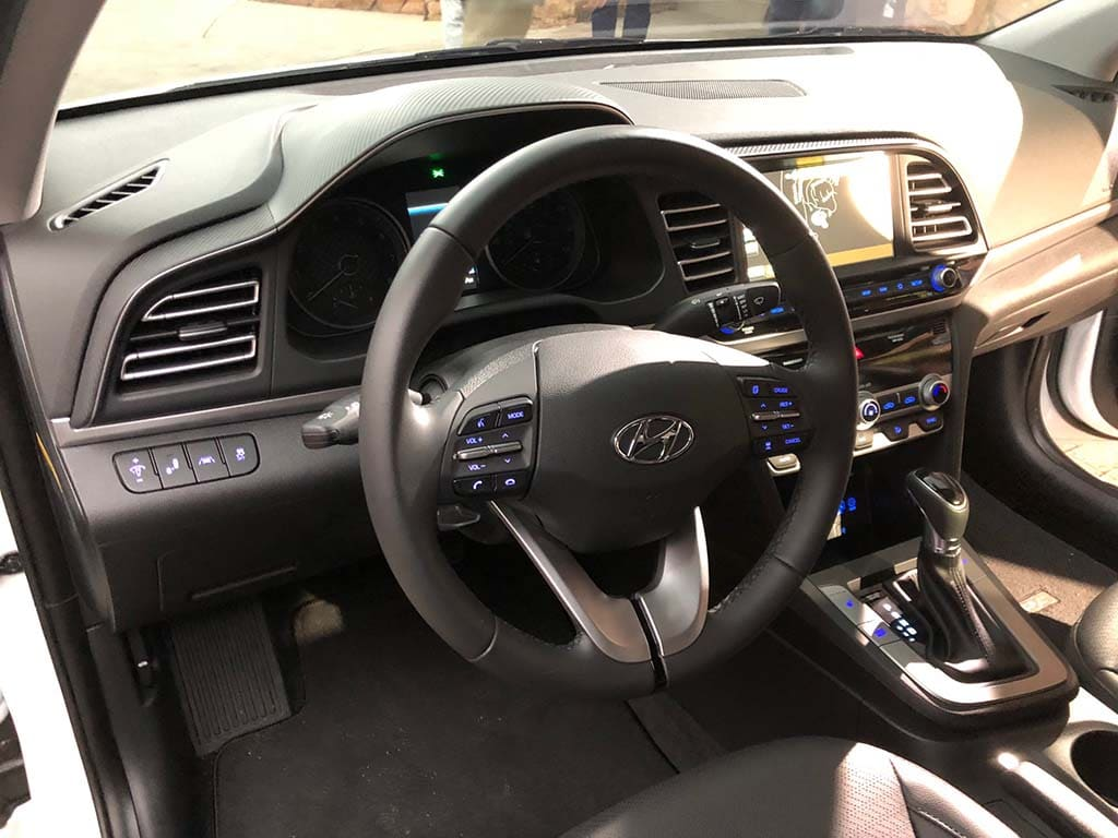 Hyundai Elantra Interior >> 2019 Hyundai Elantra: More Than the Typical Mid-Cycle
