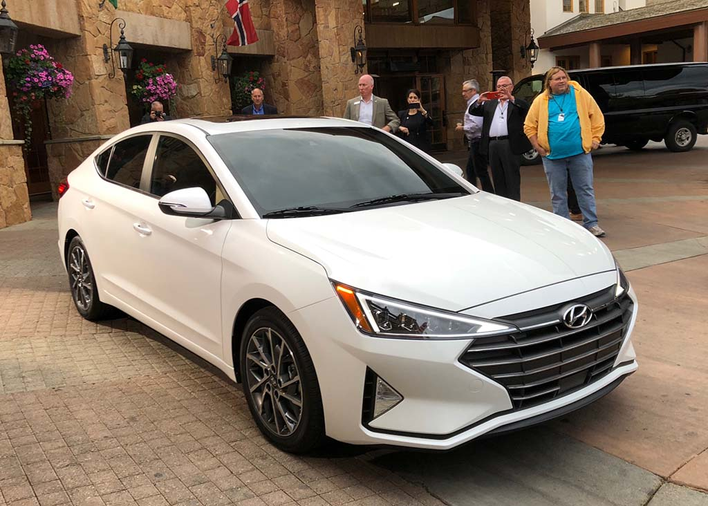 Us Auto Sales >> 2019 Hyundai Elantra: More Than the Typical Mid-Cycle Refresh | TheDetroitBureau.com