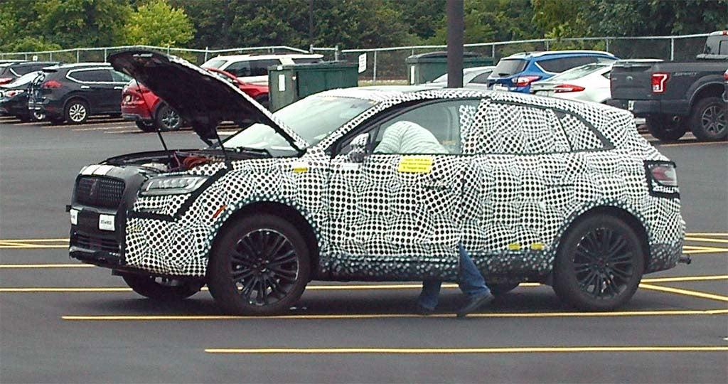 Spy Shots: Next Edge, Lincoln Nautilus Get Caught With Minimal Camo