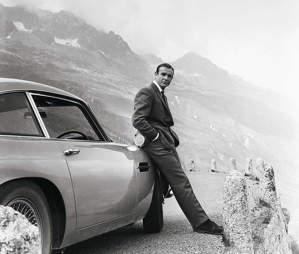 "Aston Martin Rolls Out Limited Line of ""Goldfinger"" DB5s"