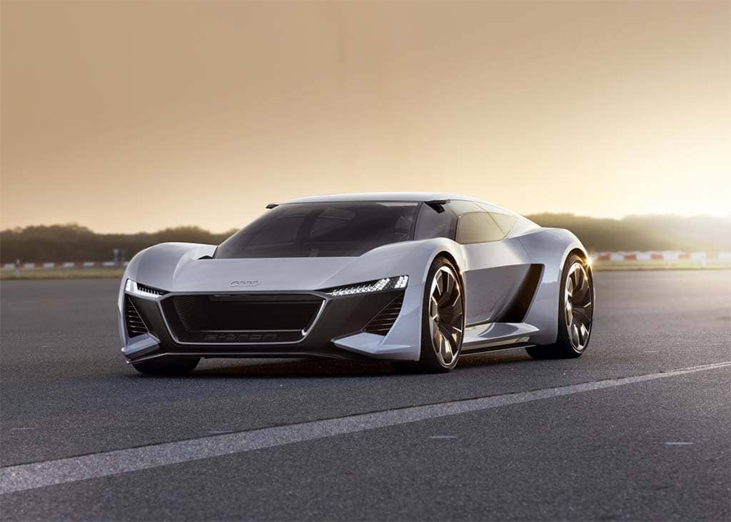 Audi Sparks Race for Fastest EV with Debut of PB 18 e-tron