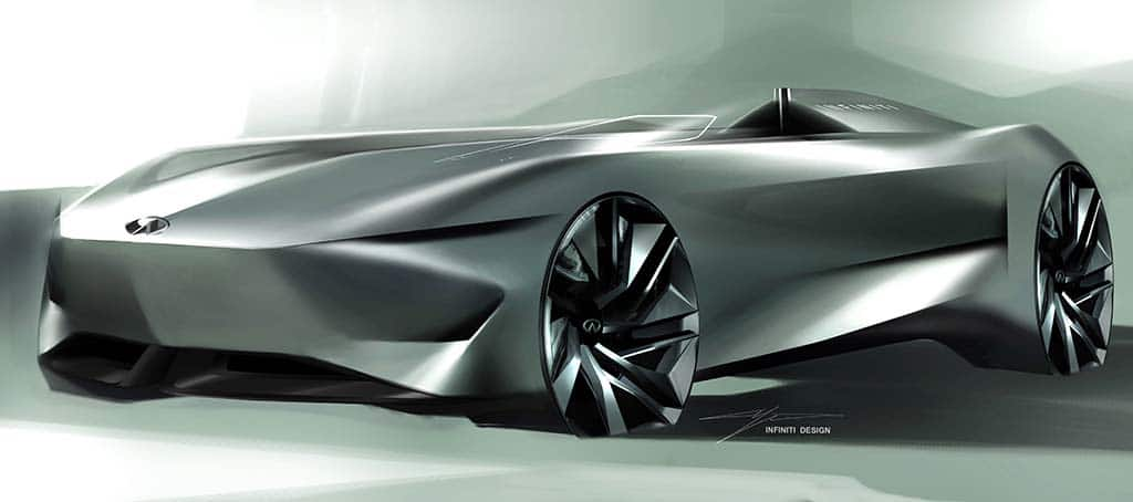 """Infiniti Electrifies the """"Classic Speedster"""" with Pebble Beach Concept"""