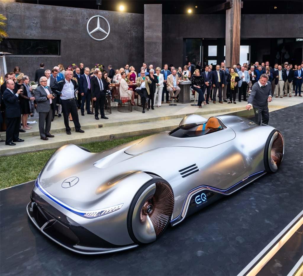 Mercedes EQ Silver Arrow Concept Offers Signpost to Future Designs