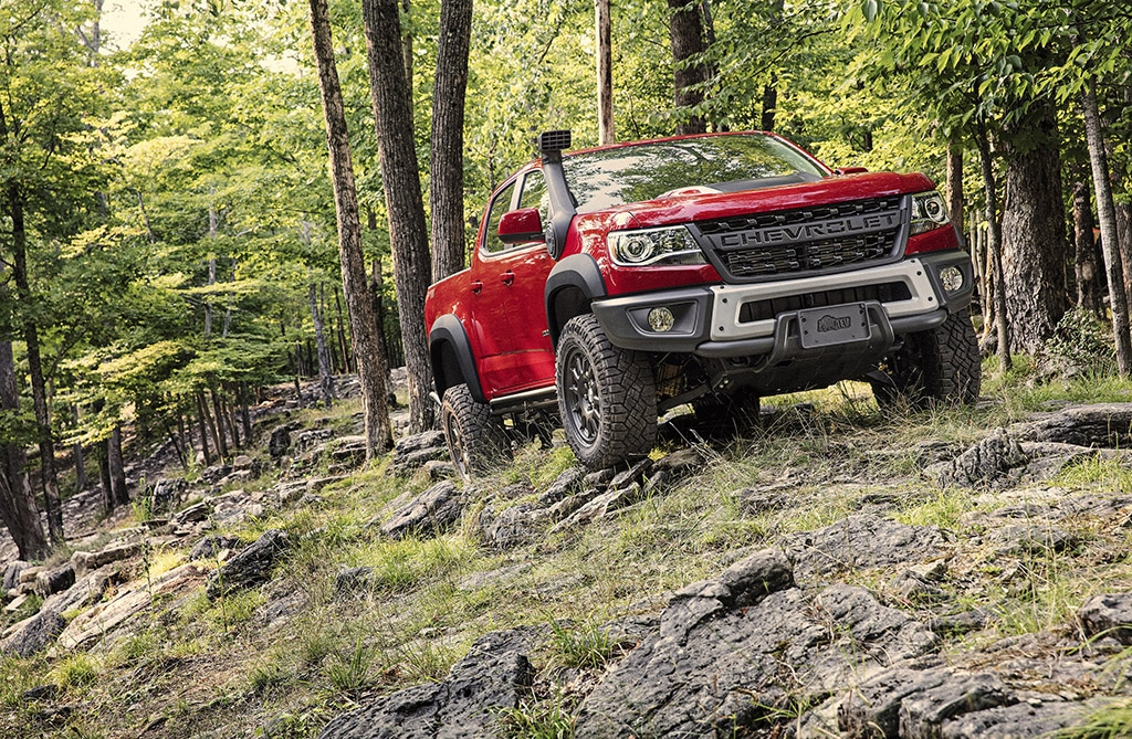 Chevy Makes Colorado ZR2 Even More of an Off-Roader with New Bison
