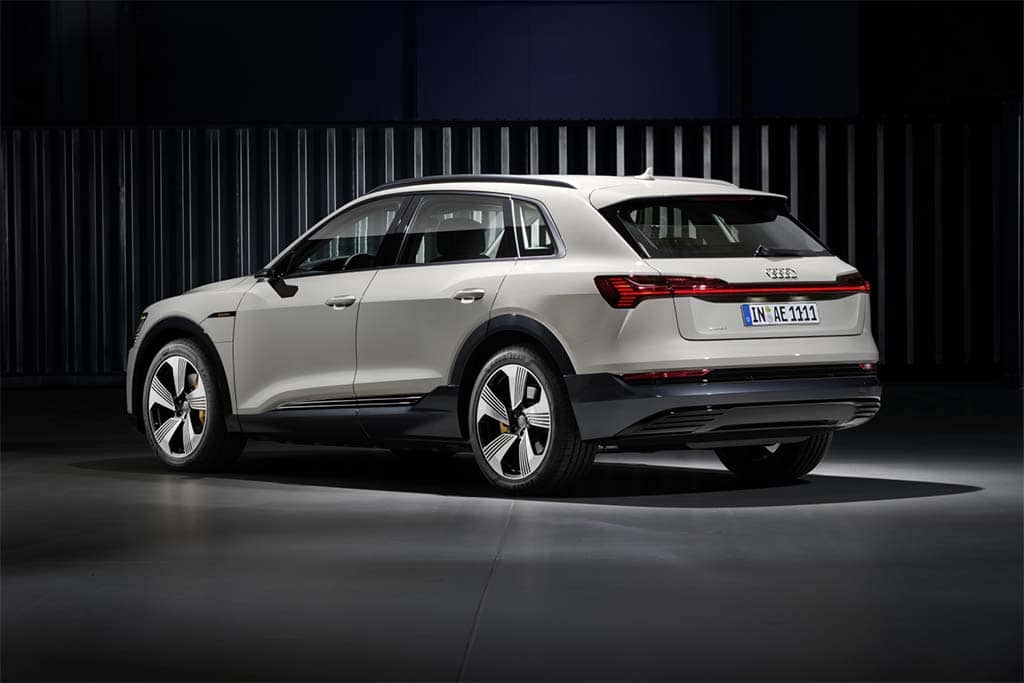 Audi's new e-tron sport-utility is the first of several battery-electrics the brand plans to unleash in the U.S