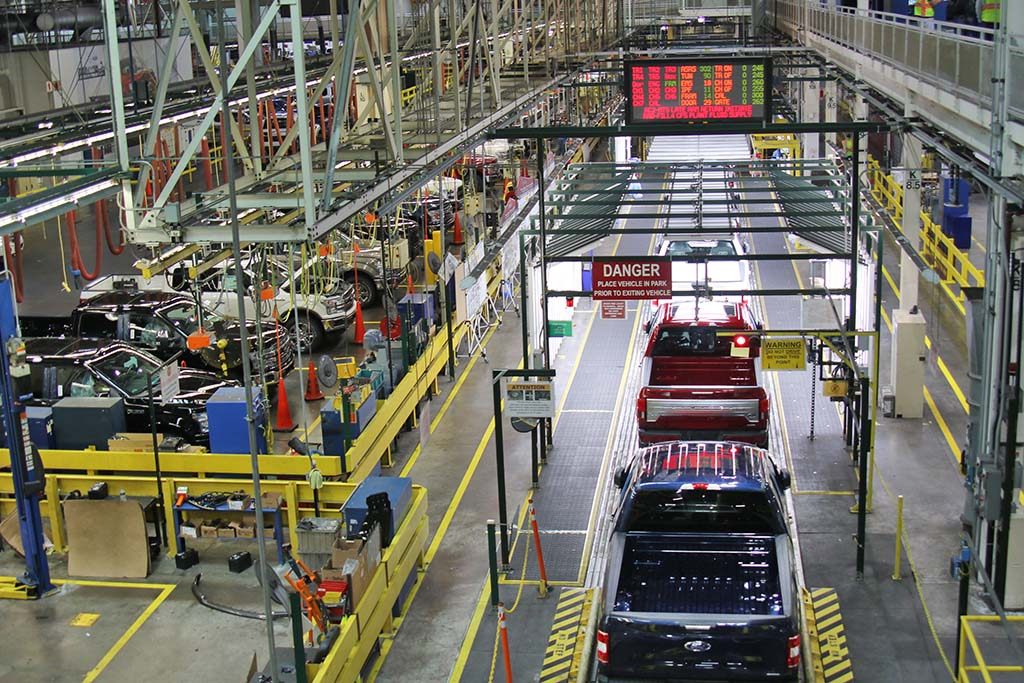 Ford's Rouge Complex Gets New Product Line to Celebrate Centennial