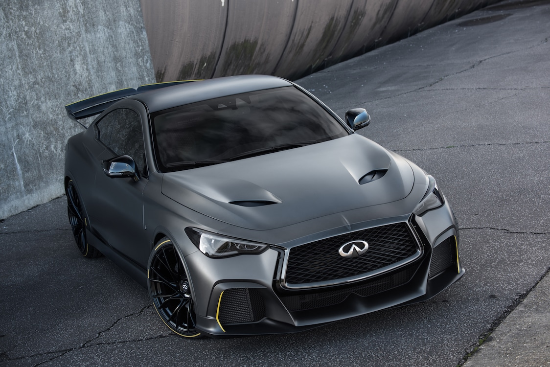 Project Black S Prototype Shows Infiniti's Electric Future in Paris