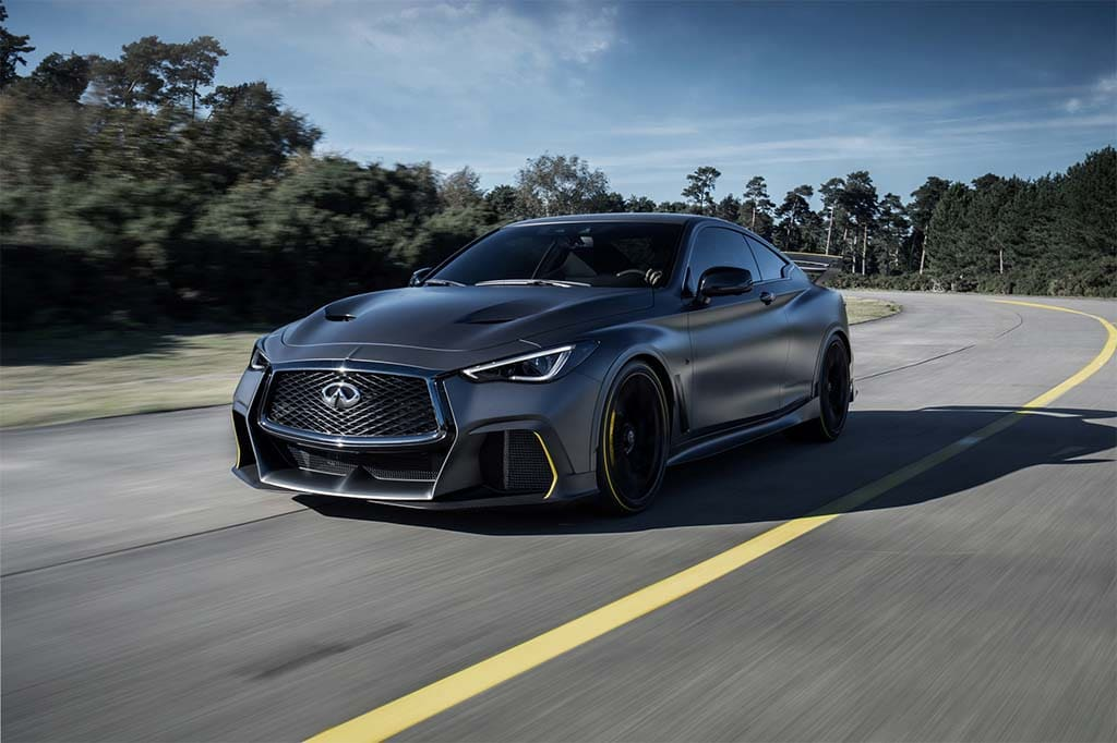 Uncovered: Infiniti Project Black S