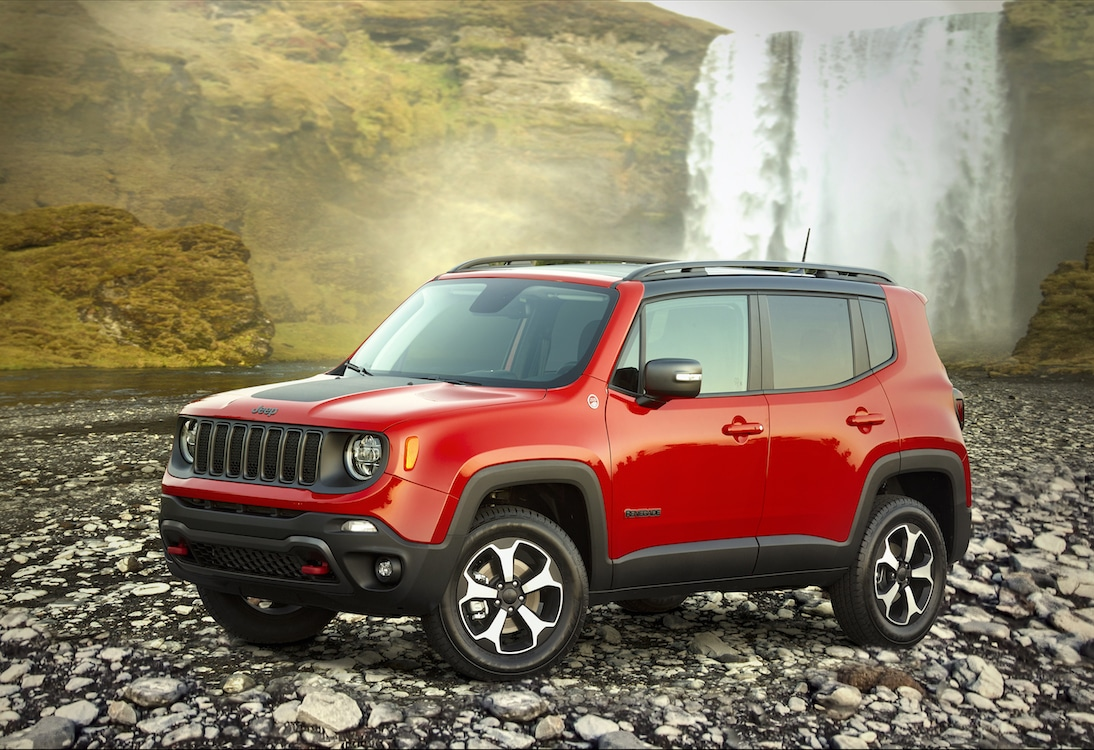 jeep to launch renegade plug in hybrid in 2020. Black Bedroom Furniture Sets. Home Design Ideas