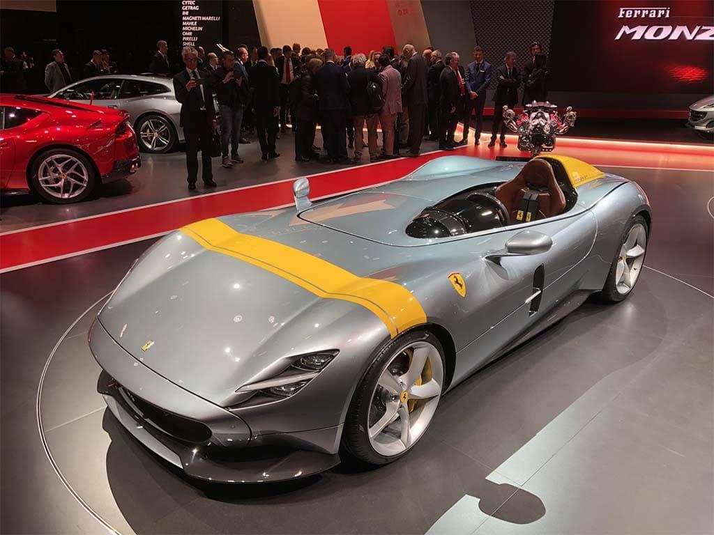 Ferrari's New Monza Models Put a Modern Spin on Classic Designs