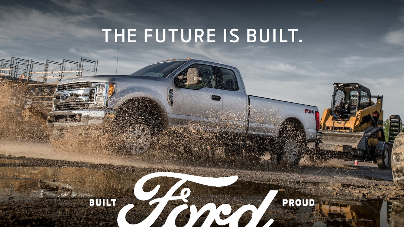 Ford's New Ad Campaign Shoots Straight Hyping Products, History