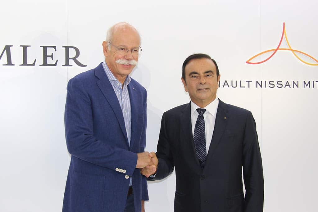 Future of Alliance with Nissan/Renault the Big Question as Zetsche Prepares to End Role as Daimler CEO