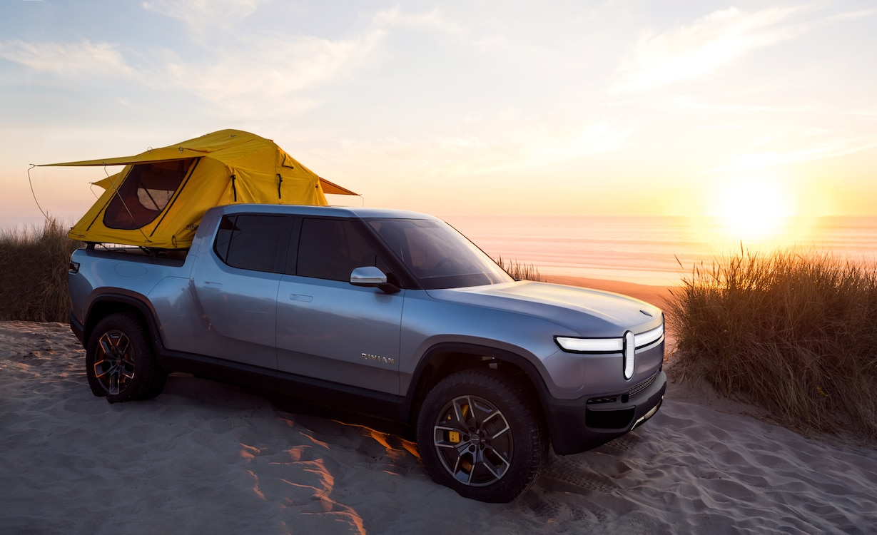 Amazon Becoming Lead Investor in Rivian
