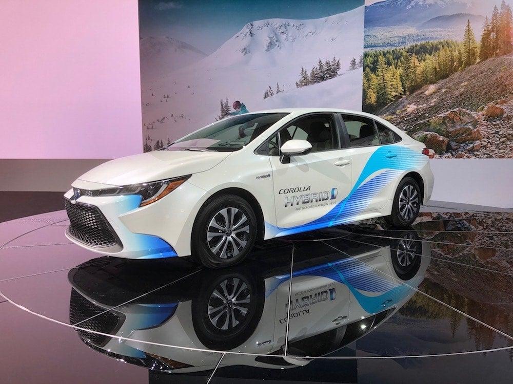 Toyota Adds New Hybrid Model to Corolla Portfolio