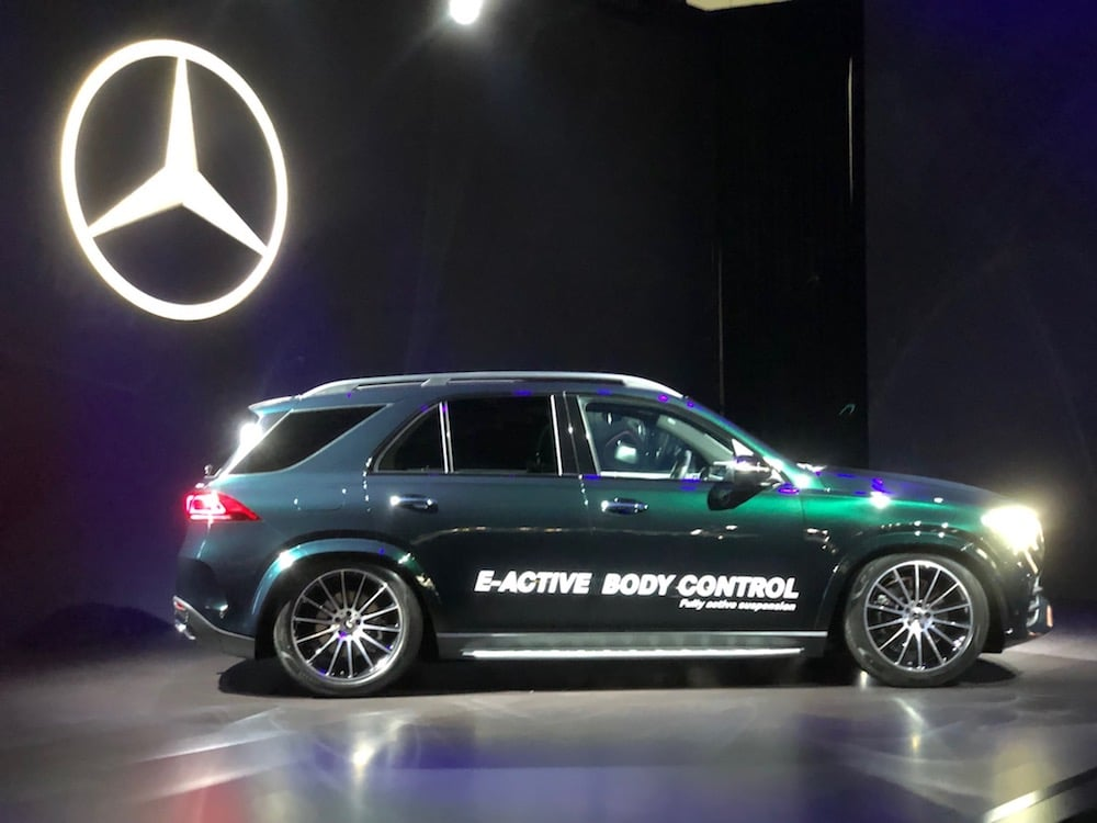 Mercedes Debuts New GLE Ute in Los Angeles