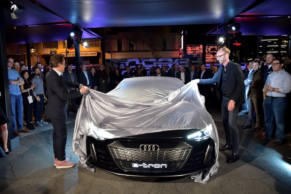 Audi Taps The Iron Man To Reveal New E Tron Gt