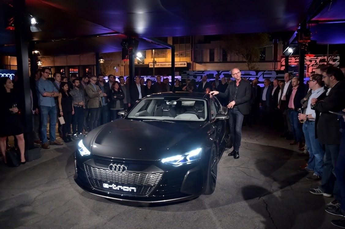 Audi Taps The Iron Man To Reveal New E Tron Gt Thedetroitbureaucom