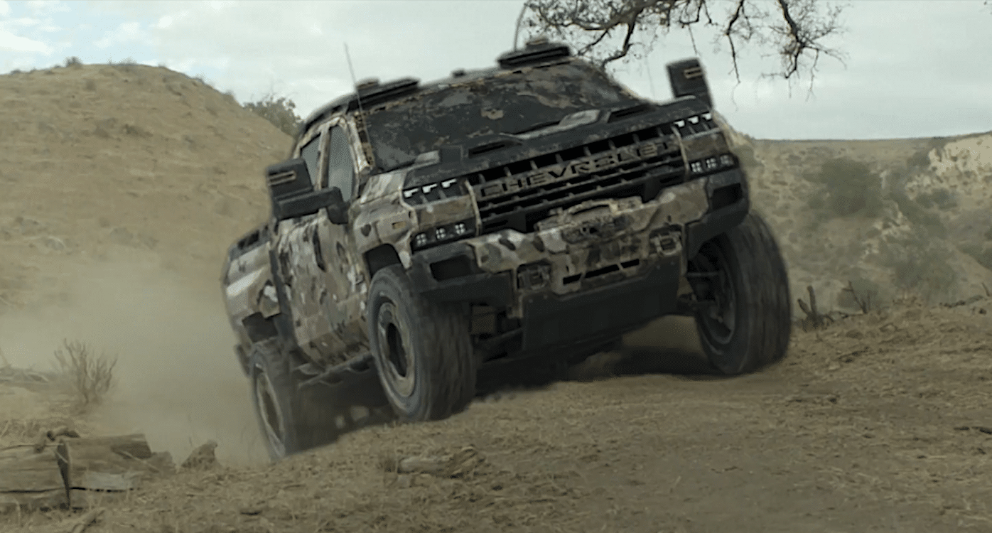 GM Adds Silverado ZH2 to Military-Ready Line-up ...