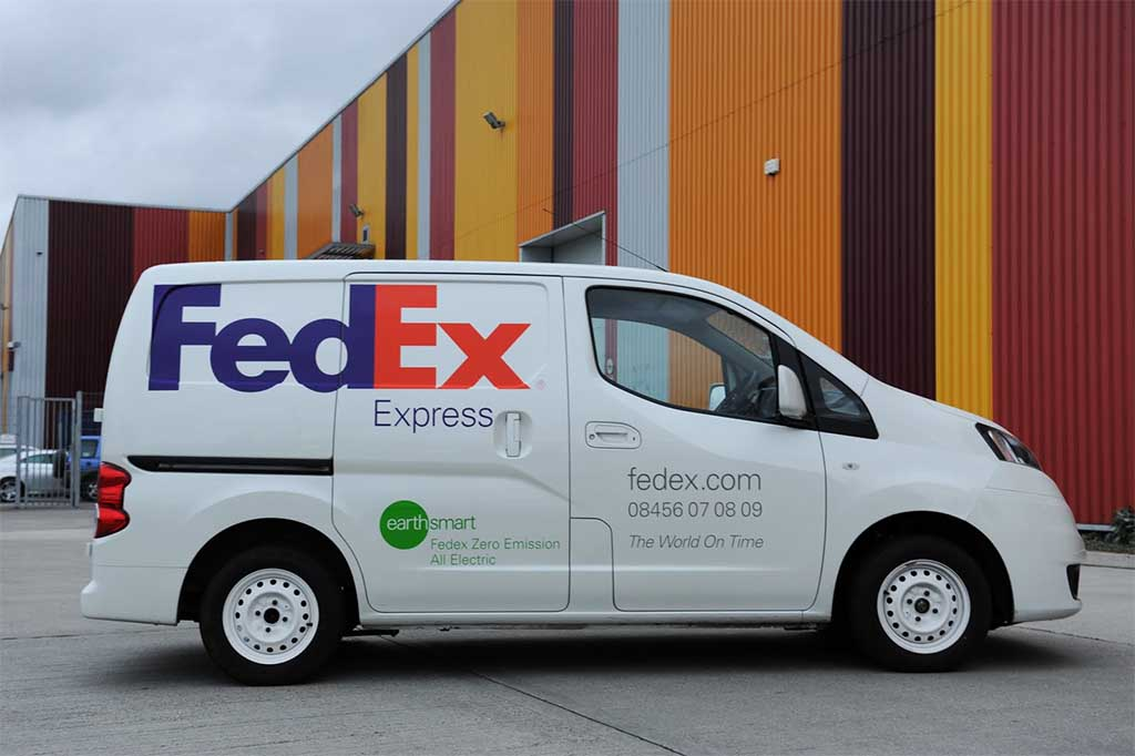 Fedex Has Been Experimenting With Other All Electric