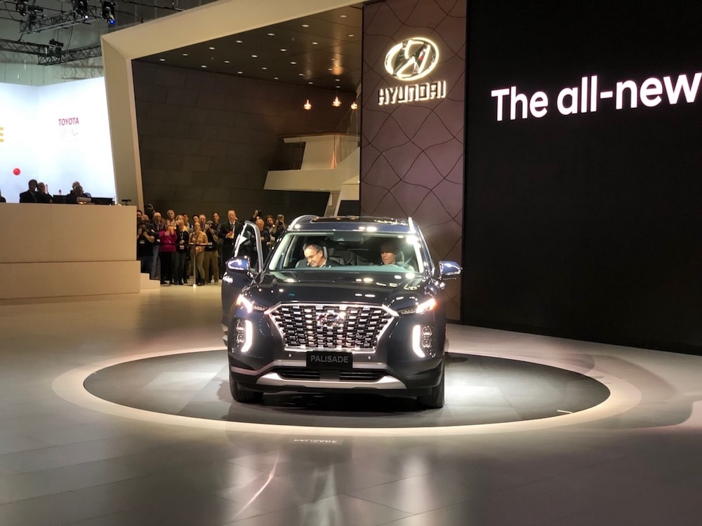 Hyundai Goes Big With New Palisade Suv Thedetroitbureau Com
