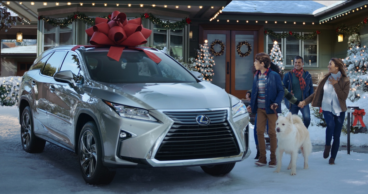 Lexus Launches Key Holiday Advertising Campaign