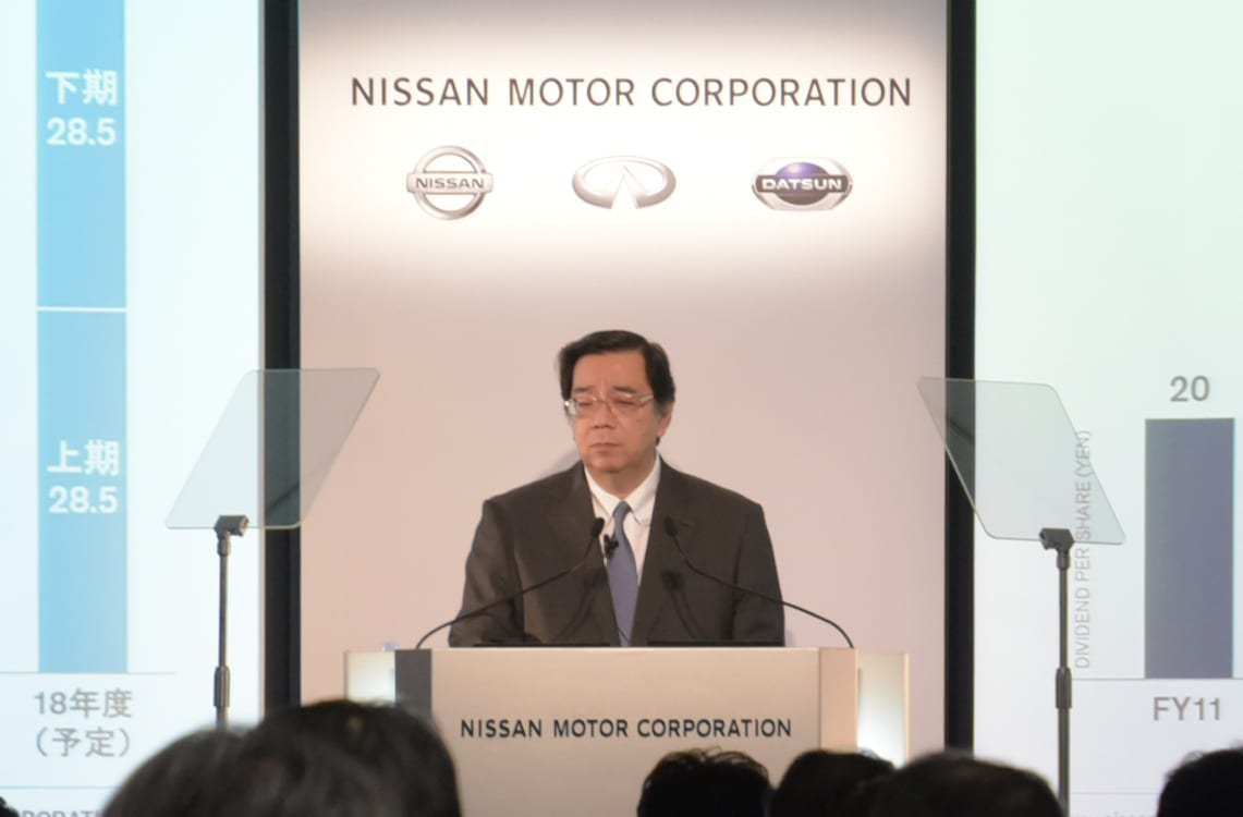 Nissan Profits Fall 8% in First Half of Fiscal Year