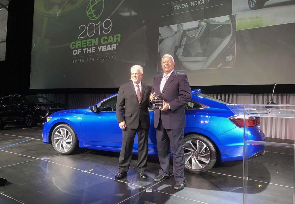 Honda Insight Named Green Car of the Year