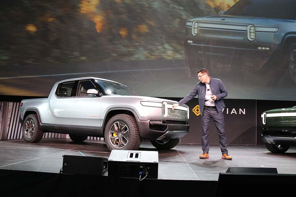 EV Truck Maker Rivian Reportedly in Talks with Amazon and GM