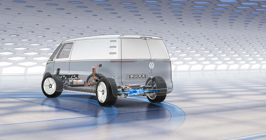 Vw Reveals Commercial Version Of All Electric I D Buzz