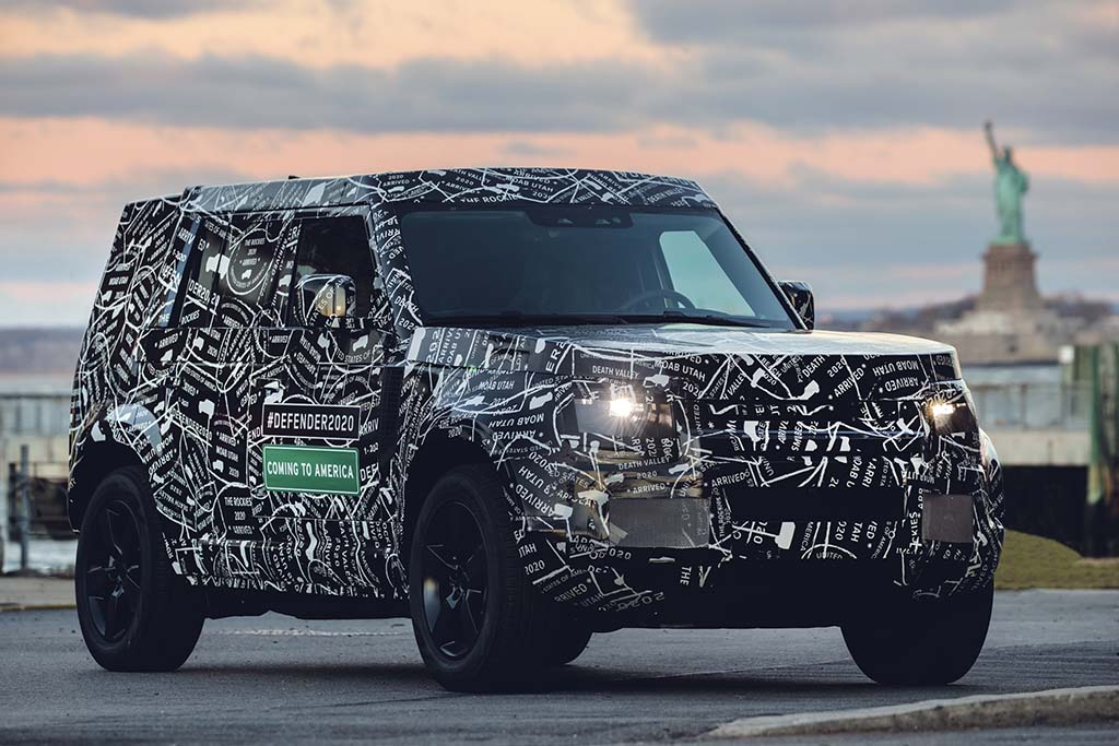 New Land Rover Defender Coming to US in 2020