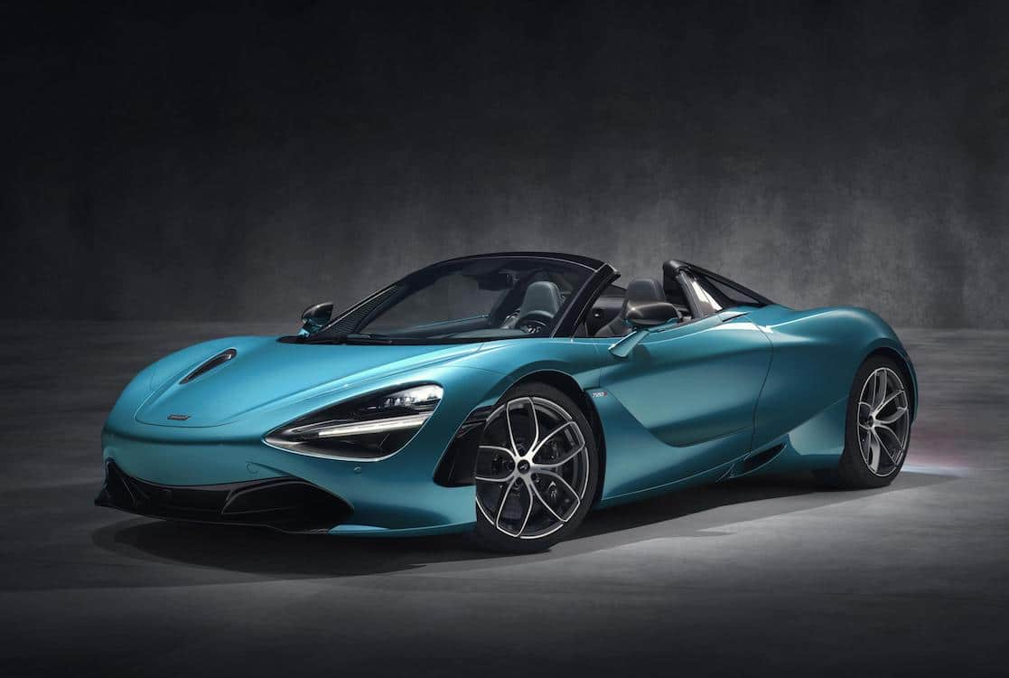 McLaren Offering More Open Air Speed With New 720S Spider