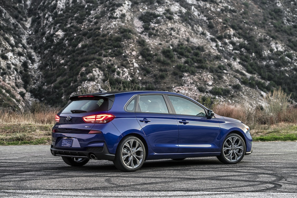 Hyundai Powers Up With New Elantra GT N Line ...