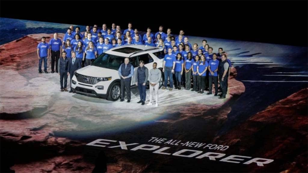 Ford Backs SUV Push With All-New 2020 Explorer ...